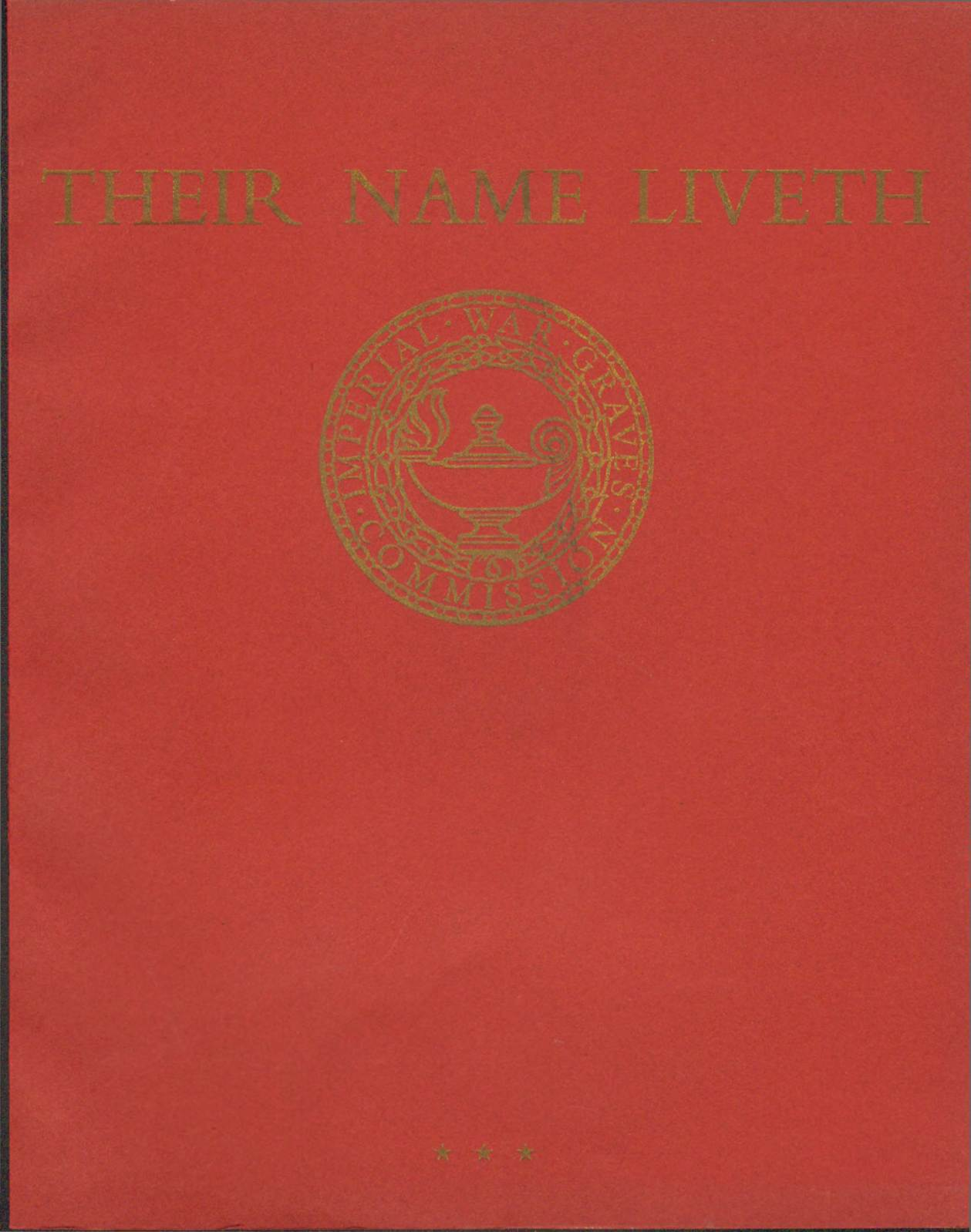View individual pages of 'Their Name Liveth, Commonwealth War Cemeteries, 1914-1918, 1939-1945, Vol. II, Part III'