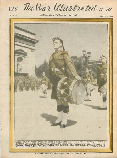 View individual pages of 'The War Illustrated, No. 212  Vol 9 August 3rd 1945'