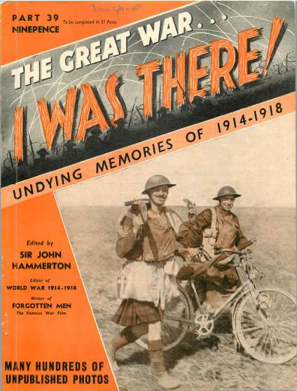 View individual pages of 'The Great War, I was there - Part 39'