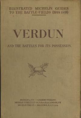 View individual pages of 'Illustrated Michelin Guides to the Battlefields 1914-1918, Verdun'