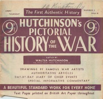 View individual pages of 'Hutchinson's Pictorial History of the War, Series 25 No. 5'