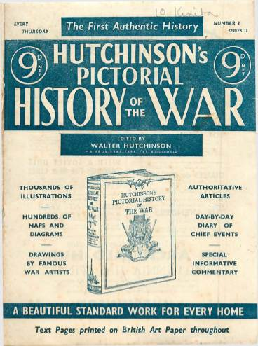 View individual pages of 'Hutchinson's Pictorial History of the War, Series 18 No 2'