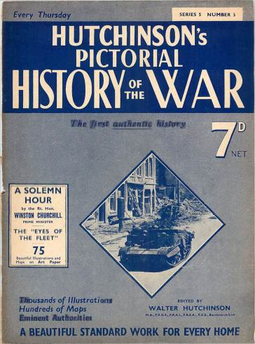 View individual pages of 'Hutchinson's Pictorial History of the War, Series 5 No. 5'