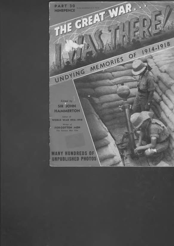 View individual pages of 'The Great War, I was there - Part 30'