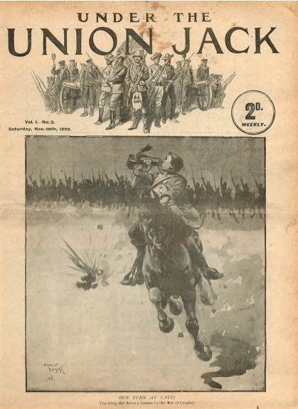 View individual pages of 'Under The Union Jack, No. 2, Vol. 1, November 18th 1899'