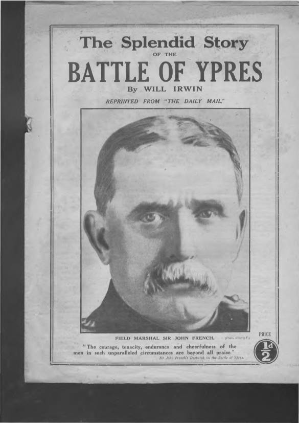 View individual pages of 'Battle of Ypres reprinted from the Daily Mail March 4th 1915'