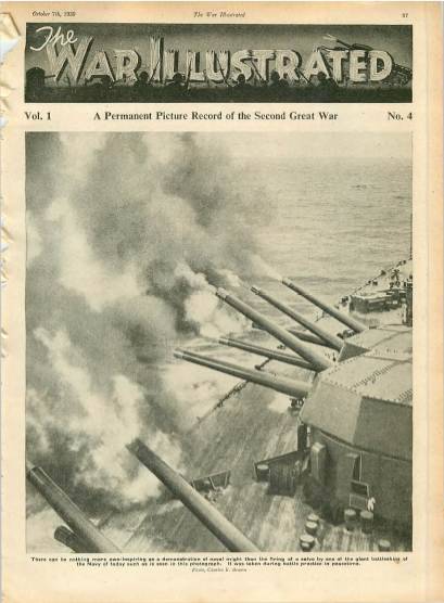 View individual pages of 'The War Illustrated  No 4 Vol 1 October 7th 1939'