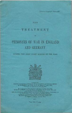 View individual pages of 'The Treatment of Prisoners of War in England and Germany'