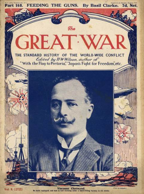 View individual pages of 'The Great War Part 168, November 3rd 1917'