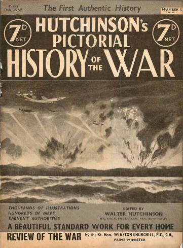 View individual pages of 'Hutchinson's Pictorial History of the War, Series 7 No. 5'