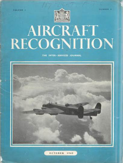 View individual pages of 'Aircraft Recognition No. 2, Vol. 1'