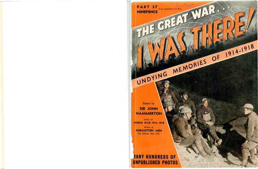 View individual pages of 'The Great War, I was there - Part 37'