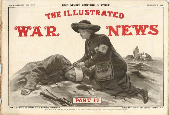 View individual pages of 'The Illustrated War News, Part 17, December 2nd 1914'