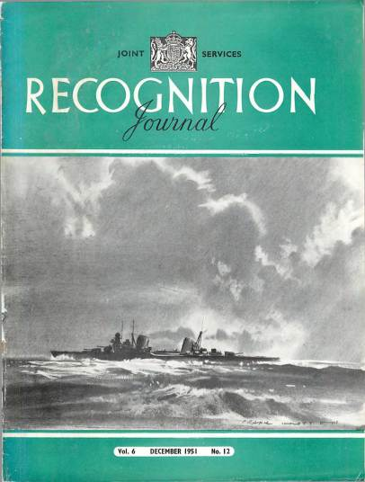 View individual pages of 'Recognition Journal, Volume 6 No. 12 December 1951'
