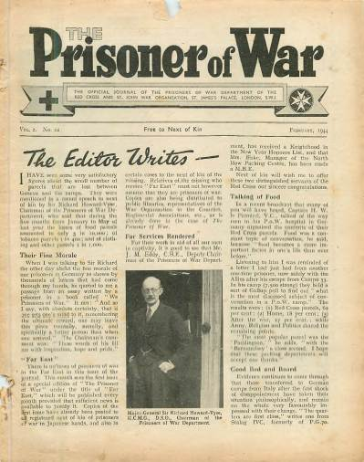 View individual pages of 'The Prisoner of War  No 22 Vol 2 February 1944'