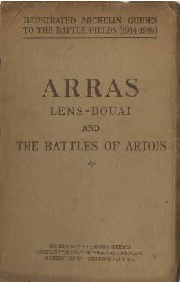 View individual pages of 'Illustrated Michelin Guides to the Battlefields 1914-1918, Arras'