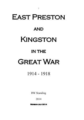 View individual pages of 'East Preston and Kingston in the Great War.'