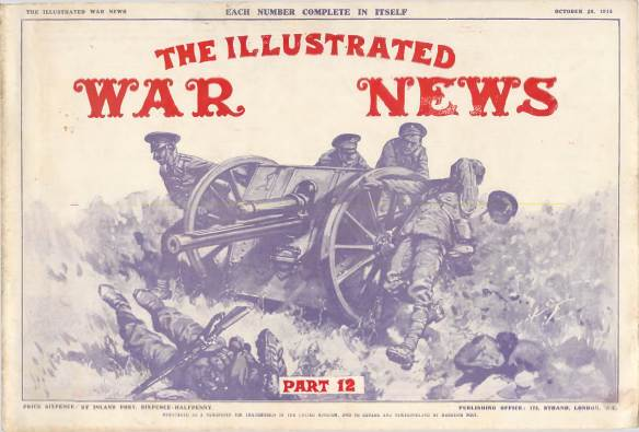 View individual pages of 'The Illustrated War News, Part 12, October 28th 1914'