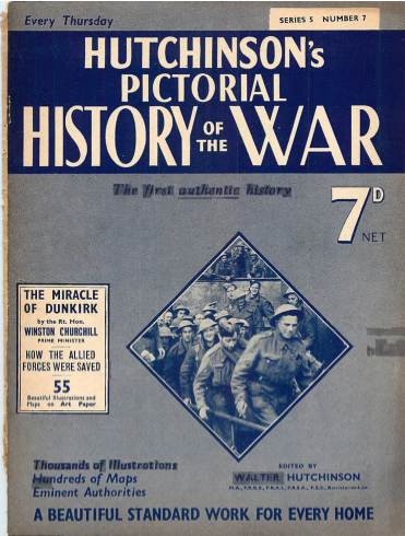 View individual pages of 'Hutchinson's Pictorial History of the War, Series 5 No. 7'