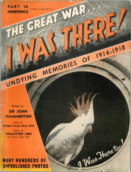 View individual pages of 'The Great War, I was there - Part 16'