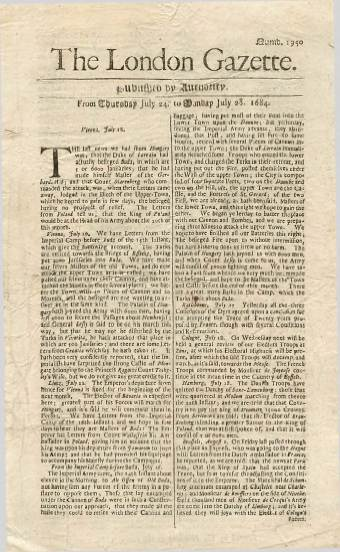 View individual pages of 'The London Gazette, July 24 - July 28 1684'