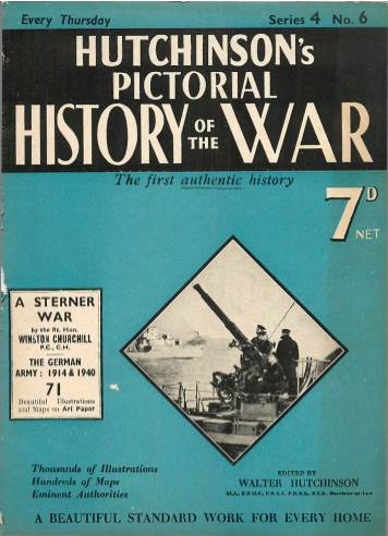 View individual pages of 'Hutchinson's Pictorial History of the War Series 4 No. 6'