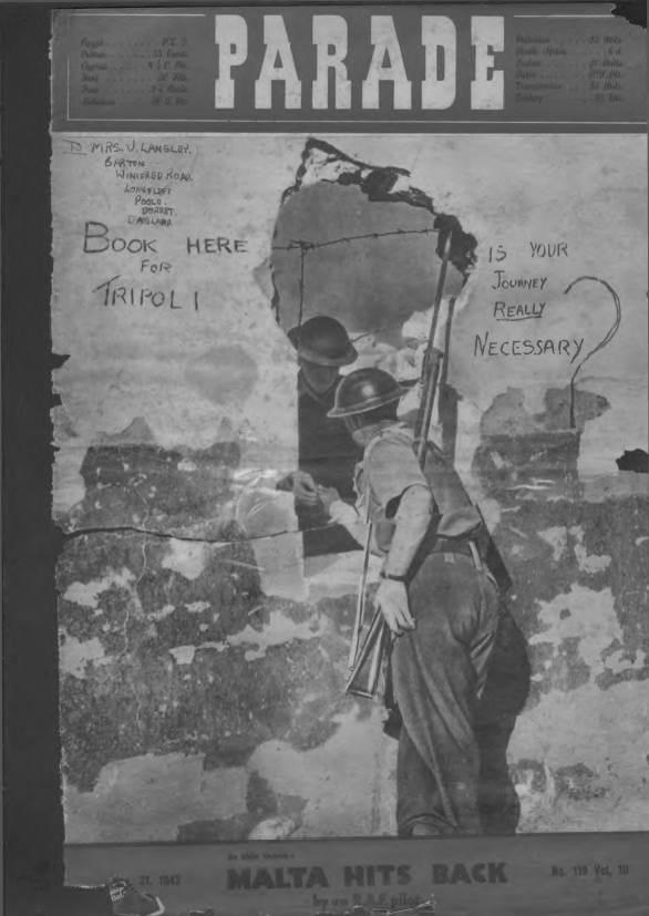 View individual pages of 'Parade  No 119 Vol 10 November 21st 1942'