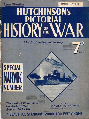 View individual pages of 'Hutchinson's Pictorial History of the War, Series 5 No. 1'