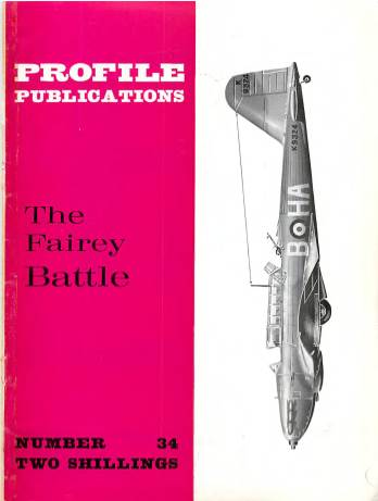 View individual pages of 'Profile Publications No. 34 The Fairey Battle'