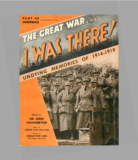 View individual pages of 'The Great War, I was there - Part 48'