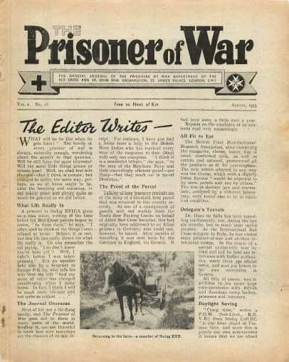 View individual pages of 'The Prisoner of War  No 16 Vol 2 August 1943'