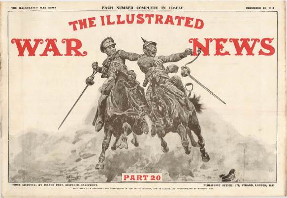 View individual pages of 'The Illustrated War News, Part 20, December 23rd 1914'