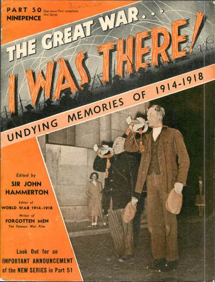 View individual pages of 'The Great War, I was there - part 50'