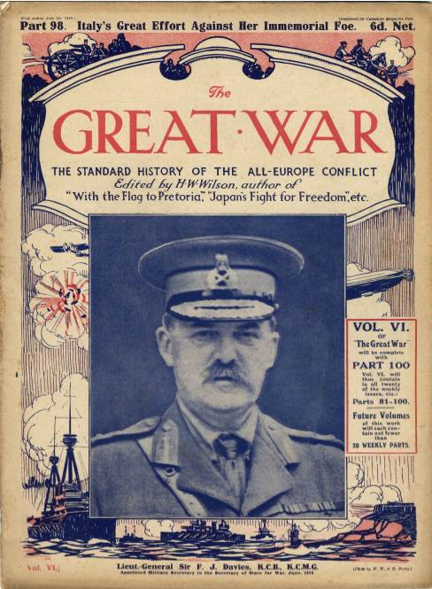 View individual pages of 'The Great War Part 98, July 1st 1916'