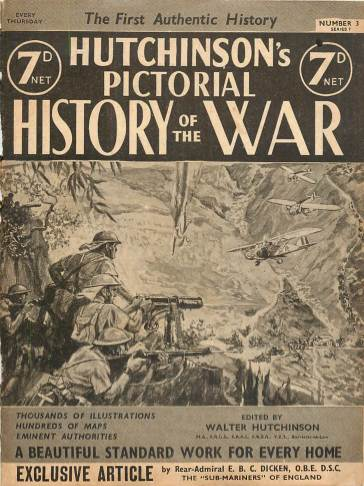 View individual pages of 'Hutchinson's Pictorial History of the War, Series 7 No. 3'