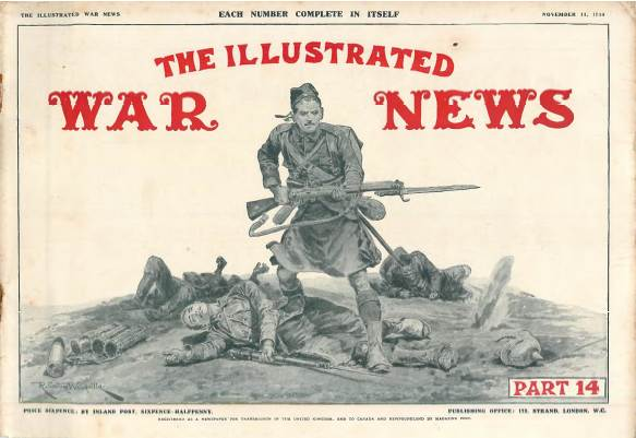 View individual pages of 'The Illustrated War News, Part 14, November 11th 1914'