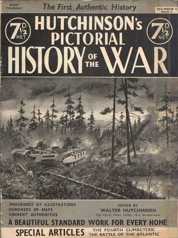 View individual pages of 'Hutchinson's Pictorial History of the War, Series 12 No.6'