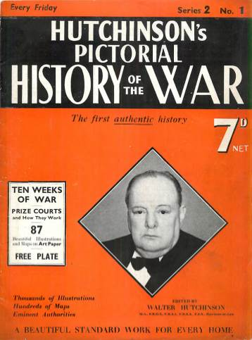 View individual pages of 'Hutchison's Pictorial History of the War, No. 1, Vol. 2'