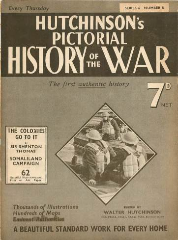 View individual pages of 'Hutchinson's Pictorial History of the War, Series 6 No. 8'
