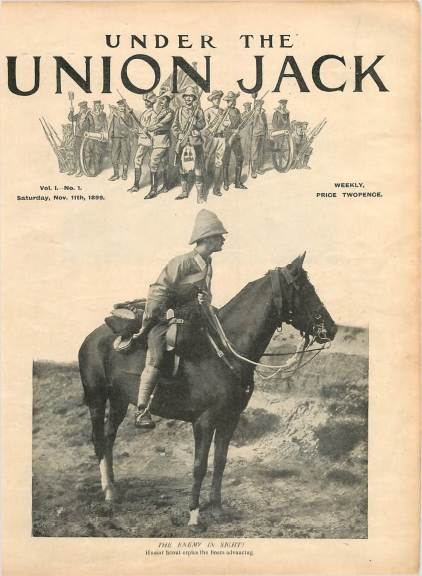 View individual pages of 'Under The Union Jack, No. 1, Vol. 1, November 11th 1899'