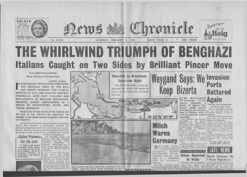 View individual pages of 'News Chronicle  February 8th 1941'