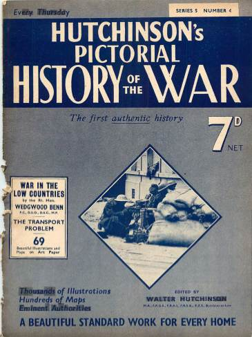 View individual pages of 'Hutchinson's Pictorial History of the War, Series 5 No. 4'