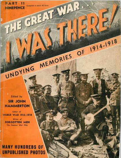 View individual pages of 'The Great War, I was there - Part 11'