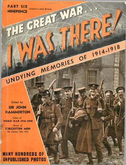 View individual pages of 'The Great War, I was there - Part 6'