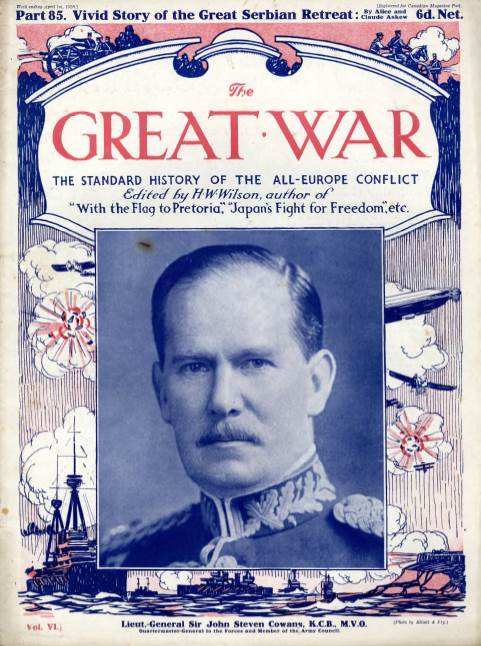 View individual pages of 'The Great War Part 85, April 1st 1916'