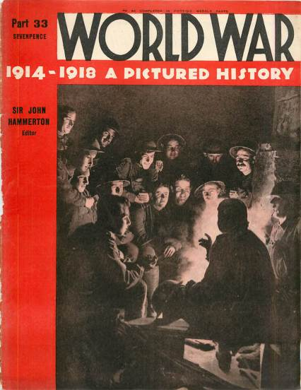 View individual pages of 'World War 1914 - 1918 A Pictured History Part 33'