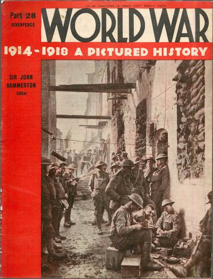 View individual pages of 'World War 1914 - 1918 A Pictured History Part 28'