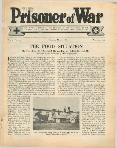 View individual pages of 'The Prisoner of War  No 34 Vol 3 February 1945'