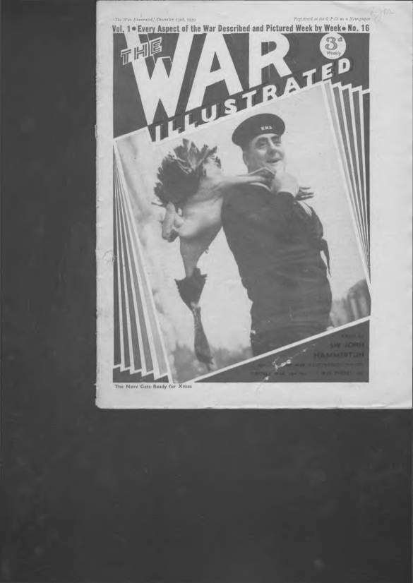View individual pages of 'The War Illustrated  No 16 Vol 1 December 23rd 1939'