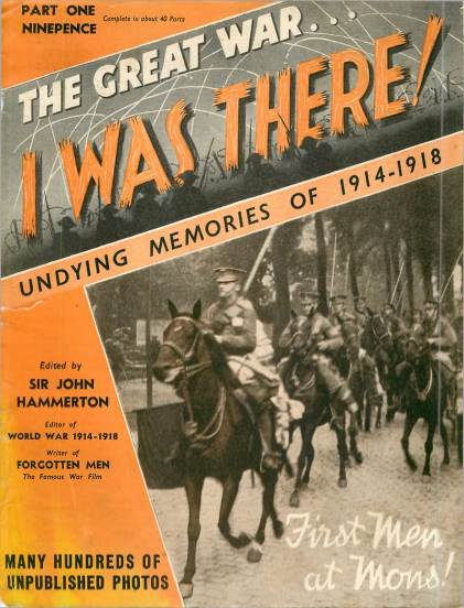 View individual pages of 'The Great War, I was there - Part 1'